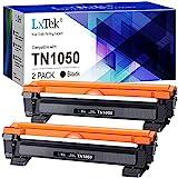 LxTek Tonerkartusche Kompatibel für Brother TN-1050 TN1050 für DCP-1510 DCP-1610W DCP-1612W DCP-1512 MFC-1910W MFC-1810 HL-1110 HL-1212W HL-1210W HL-1112 (Schwarz, 2er-Pack)