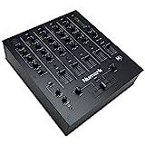 Numark M6 USB - 4-Kanal-DJ Mischpult mit integriertem Audio-Interface, 3-Band-Equalizer, für die...