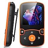 AGPTEK MP3 Player Bluetooth 5.0 Sport 32GB mit 1,5 Zoll TFT Farbbildschirm, Mini Musik Player mit...