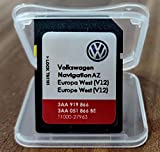 SD Karte VW GPS West Europe 2020 V12 - RNS 315