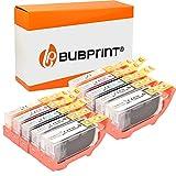 Bubprint Kompatibel Druckerpatronen als Ersatz für Canon PGI-520 CLI-521 für Pixma IP3600 IP4600 IP4700 MP540 MP550 MP560 MP620 MP630 MP640 MP980 MX860 MX870 10er-Pack