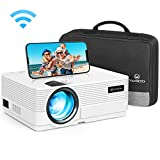 WiFi Beamer 5000 Lumen, VANKYO Leisure 470 Wireless Beamer, Support 1080P Full HD Heimkino Beamer...
