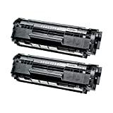 2 Toner kompatibel für Canon Catridge 703 I-Sensys LBP 2900 B I Series Lasershot LBP 2900 3000-7616A005 - Schwarz je 2000 Seiten
