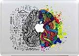Stillshine Aufkleber für MacBook Pro / Air 13 Zoll (33 cm), abnehmbar, elegant, aus Leder, selbstklebend, Vinyl, für Apple MacBook Pro / Air 13 Zoll