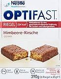 Optifast Diaetriegel Himbeer/Kirsch, 390g (6 Riegel x 65g) 15996531-1