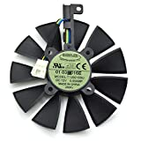 T129215SU 12V 0.5A 87mm 4Pin Grafikkartenlüfter For ASUS STRIX GTX980Ti GTX970 GTX1070 GTX 1080...