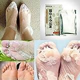ONE1X Peeling Füße Fuß Maske Fußpflege Erneuerung Fuß- Dead Geknackt Haut Korn Entfernerre, Perfectly Peeling Away Hornschwiele und Tote Haut Zellen in Nur 7 tage, Auch Leckerli unangenehme geruch