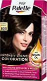 Poly Palette Intensiv-Creme-Coloration, 800 Dunkelbraun, 3er Pack (3 x 1 Stück)