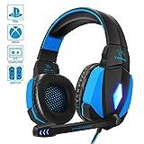 YINSAN PS4 Headset, Gaming Headset Kopfhörer für Nintendo Switch, Xbox One & Laptop, 3.5mm Noise...