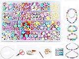 vytung 24 Arten Bunte Baby Stringing Perlen Spiel Schnürsystem Perlen Beads Spielzeug DIY...