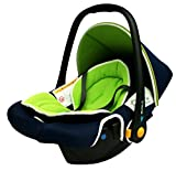 Phenix ABU Kinderautositz Babyschale, Gruppe 0+ (0-13kg), ECE 44/04, grün