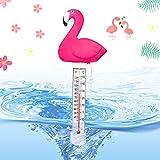 Schwimmendes Thermometer,Teich Wasserthermometer,Floating Poolthermometer,Schwimmbadthermometer,Schwimmende Wasserthermometer,Schwimmende Pool Thermometer,Wasser Temperatur Thermometer