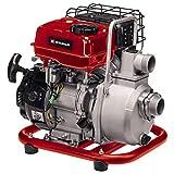 Einhell Benzin-Wasserpumpe GC-PW 16 (1.6 kW, max. 14000 L/h Fördermenge, max. 28 m Förderhöhe, Wassereinfüllstutzen, Wasserablassschraube, Ölmangelsicherung, inkl. 2x Schlauchadapter, Saugkorb)