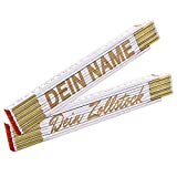 Zollstock mit Name - Meterstab mit Gravur/individuelles und persönliches Geschenk mit Wunschtext personalisiert/Laserbeschriftung
