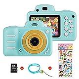 Vannico Kinder Digital Mini Kamera, Selfie Photo Kids Camera HD Kinderkamera 8 Megapixel,...