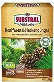 Naturen Bio Koniferen- und Hecken, Organisch-mineralischer Volldünger für alle Nadelgehölze und Heckenpflanzen mit natürlicher Langzeitwirkung, 1,7 kg