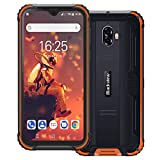 Blackview BV5900 IP69K Outdoor Handy Ohne Vertrag 5,7 Zoll HD+ Waterdrop Display Android 9.0 13MP+5MP Kameras 5580mAh Akku Helio A22 3GB+32GB 4G Robustes Smartphone (Orange)