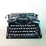 YXS Klassische Retro-Schreibmaschine, House Collection, Wedding Valentine, Welts Weihnachten, Haus/Büro/Arbeitszimmer Dekor Dekoration (Schreibmaschine)