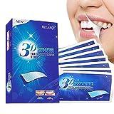 White Stripes, Bright White Teeth Whitening Strips, Zahnaufhellung Zahn Bleaching Strips für Weiße Zähne, Gegen Gelbe Zähne, Rauchflecken, Schwarze Zähne, für 7 Tage