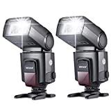 Neewer®TT560 Zwei Blitzgerät Blitz Speedlite Set für Canon Nikon Sony Olympus Panasonic Pentax...