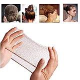 50PCS Haarnetze unsichtbar Elastisches Haarnetz für Balletttanz 20' Kaffee