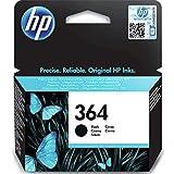HP 364 Original Tintenpatrone schwarz 6 ml Standardkapazität 250 Seiten 1 Packung mit Vivera Tinte