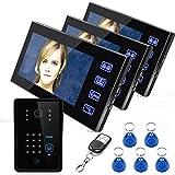 Drahtloses intelligentes Bildtelefon Freisprecheinrichtung Türklingel Security-Überwachung...