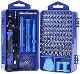 YINSAN Mini Schraubendreher Set, 120 in 1 Feinmechaniker Set, Werkzeug set, Präzisionsschraubendreher Set für iPhone, Laptop, Tablet, Uhren, Kamera, usw (Grau blau)
