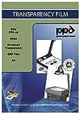 PPD 20 x A4 Inkjet OHP Overheadfolie - Premium Transparentfolie mit verbesserter mikroporöser Beschichtung für vollfarbige und sofort trocknende Ausdrucke - geeignet für alle Tintenstrahldrucker - PPD34-20