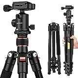 K&F Concept® TM2324 Reisestativ Kamera Stativ Kamerastativ für Canon Nikon Sony inkl. Kugelkopf...