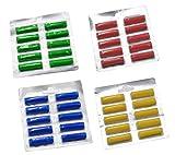 40 Duftstäbchen Parfum.grün, gelb, blau, rot Duftis, Noten 'Sommerwiese', 'Lemone', 'Meeresbriese', 'Fruchtfrische'