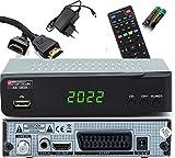 Opticum SBOX - PVR Aufnahmefunktion Timeshift - Multimedia - 1080P Digital HDTV Sat Receiver für...
