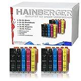 10x Hainberger XXL Patronen kompatibel zu Canon PGI-550 XL + CLI-551 für Pixma IP-7250 IX-6850 MG-5450 MG-5550 MG-5650 MG-5655 MG-6450 MG-6650 MX-725 MX-925