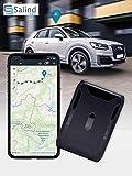 SALIND GPS-Tracker Auto, Motorrad, Fahrzeuge und LKW´s mit Magnet, etwa 40 Tage Akkulaufzeit (bis...
