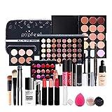 CHSEEA Schmink Geschenkset Make-Up Set Kosmetik Makeup Paletten Schminkkoffer Schminke für Gesicht, Augen und Lippen #8