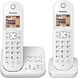 Panasonic KX-TGC 422 GW, schnurloses Telefon mit Anrufbeantworter und Zusatz-Set, weiss