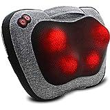 Rückenmassagegerät, Nackenmassagegerät mit Wärme, Massagekissen Geschenke für Männer & Frauen, Elektrisches Shiatsu-Rückenmassagegerät, Tiefknetendes Schultermassagegerät Weinachtsgeschenke