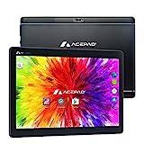 ACEPAD A121 (10.1') 3G Tablet PC, 2GB RAM, 64GB Speicher, Android 9.0 Pie, Dual-SIM, IPS HD 1280x800, Quad Core CPU, WiFi/WLAN/Bluetooth, microUSB/microSD (Alu-Schwarz)
