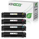 4 Kineco Toner kompatibel mit Canon 054 054H i-Sensys LBP-621CW LBP-623CDW Serie MF-640 Serie MF-641CW MF-643CDW MF-645CX - 3025C002 3026C002 3027C002 3028C002