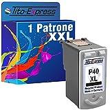 Tito-Express PlatinumSerie 1x Druckerpatrone für Canon PG-40XL Black Pixma IP1600 IP2200 IP2500 IP2600 MP140