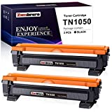 Zambrero TN1050 Toner Kompatible für Brother TN-1050 für Brother DCP-1612W DCP-1510 DCP-1610W DCP-1512, Brother HL-1110 HL-1212W HL-1112 HL-1210W, Brother MFC-1910W MFC-1810 (2 Schwarz)