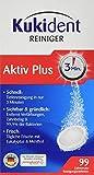 Kukident Aktiv Plus Express Reinigungsmittel, 3er Pack (3 x 99 Stück)