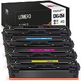 4 LEMERO Kompatibel Toner für Canon 054 Multipack für Canon Color imageCLASS MF640C MF641Cw MF642Cdw MF643Cdw MF644Cdw MF645Cx LBP621Cdw LBP622Cdw LBP623Cdw
