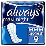 Always Maxi Profresh Night Binden Ohne Flügel (1 x 9Stück)