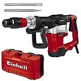 Einhell Abbruchhammer TE-DH 32 (1500 W, 32 J, 1900 (1/min), SDS-max-Werkzeugaufnahme, schwingungsgedämpfter Hauptgriff + Softgrip, inkl. Spitz-/Flachmeißel + E-Box)