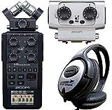 Zoom H6 Black Handy Recorder + EXH-6 Dual XLR/TRS Combo Capsule Kanalerweiterung + keepdrum Kopfhörer