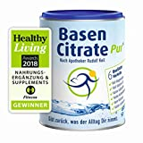 MADENA BasenCitrate Pur nach Apotheker Rudolf Keil | Basenpulver 216g Dose | Das Original mit 100% organischen Basen VEGAN | Viel Magnesium als Citrat, Zink, Kalium, Calcium Diät - Basenfasten (1)