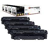 4 Original Reton Toner   25% höhere Reichweite   kompatibel zu 046 046H für Canon 046BK 046C 046M 046Y 046HBK 046HC 046HM 046HY