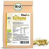 Kurkuma Kapseln Bio Nachfüllpack   400 Stück  4800mg Curcuma pro Tagesdosis   direkt vom Achterhof