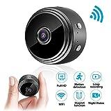 Mini Kamera, euskDE WiFi Full HD 1080P WLAN Tragbare Kleine Nanny Cam mit Bewegungserkennung und...